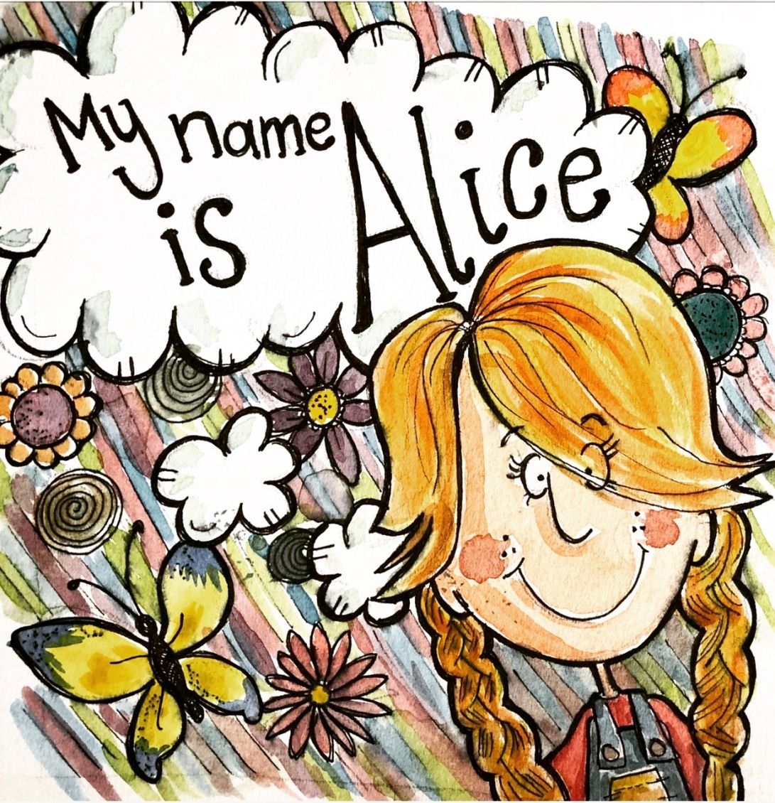 My name Alice Title