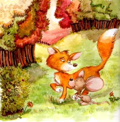 Fox and mouse