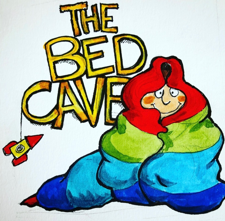 Bed Cave title book