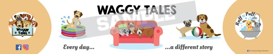 WAGGY BANNER samples